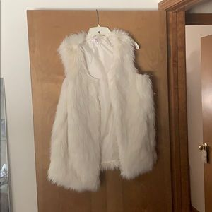 Faux fur vest from target-NWT